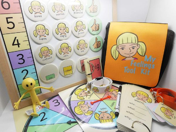 My Feelings Tool Kit - Lucy - Exploring Feelings Interactive Visual Resource Pack